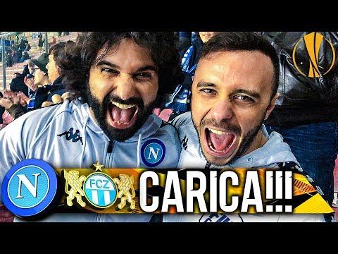 CARICA!!! NAPOLI 2-0 ZURIGO   LIVE REACTION SAN PAOLO 4K