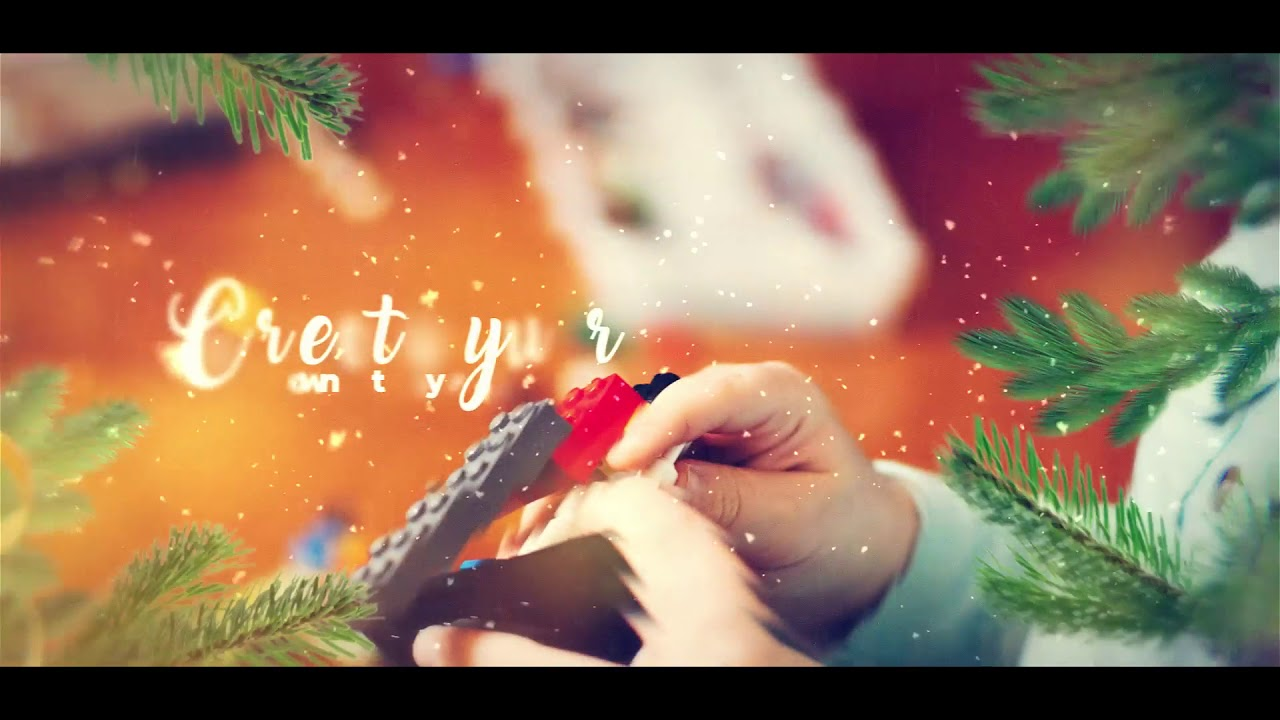 premiere pro and for after effects christmas slideshow 50 off