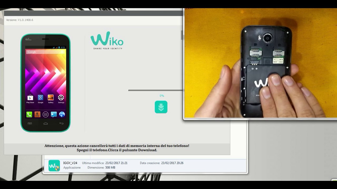WIKO TÉLÉCHARGER OZZY FIRMWARE