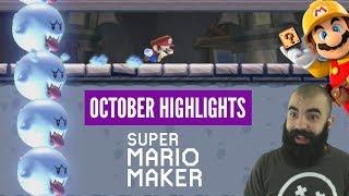 Precision and Memorable Levels   Super Expert Highlights   October Mario Maker