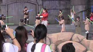 <HD画質>香港 ディズニーランド 2019年5月24日 ジェダイ・トレーニング:トライアル・オブ・ザ・テンプル