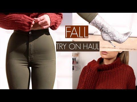 FALL FASHION NOVA TRY ON HAUL | Blissfulbrii