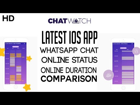 ChatWatch For Whatsapp | How to see Online Status And