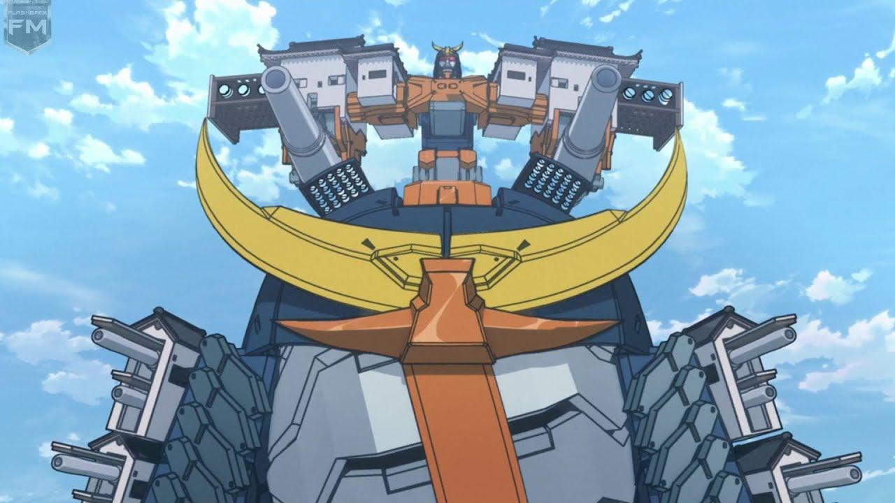 Battle in the Big Robots | Batman Ninja