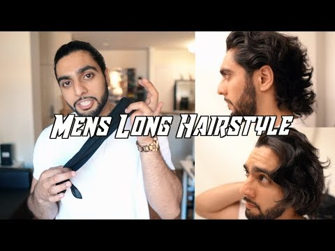 MENS LONG HAIRSTYLE 2018 (How to Grow/Style/Get Rid of Awkward Phase) thumbnail