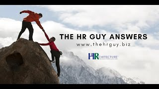 The HR Guy Answers: Strategic Execution
