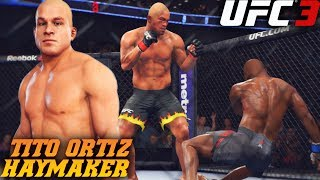Tito Ortiz Is In UFC 3 Dropping Everyone! EA Sports UFC 3 Online Gameplay