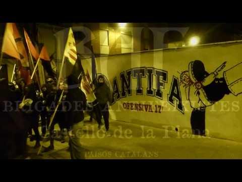 BAF Castelló: manifestació antifeixista 19-11-2016