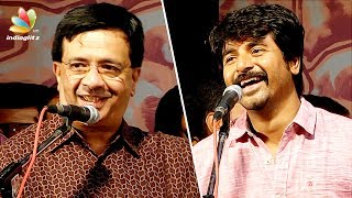 Humour is not easy : Sivakarthikeyan applaud YG Mahendran Drama | Latest Funny Speech