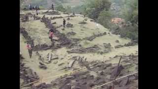 Situs Megalitikum Gunung Padang. Kab.Cianjur. Jawa Barat wmv
