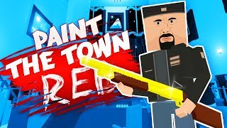THE SECRET SHOTGUN! (Best Workshop Creations - Paint The Town Red Gameplay)
