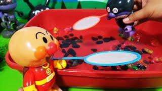 アンパンマンおもちゃアニメ❤金魚すくいで対決バイキンマン!  Toy Kids トイキッズ animation anpanman thumbnail