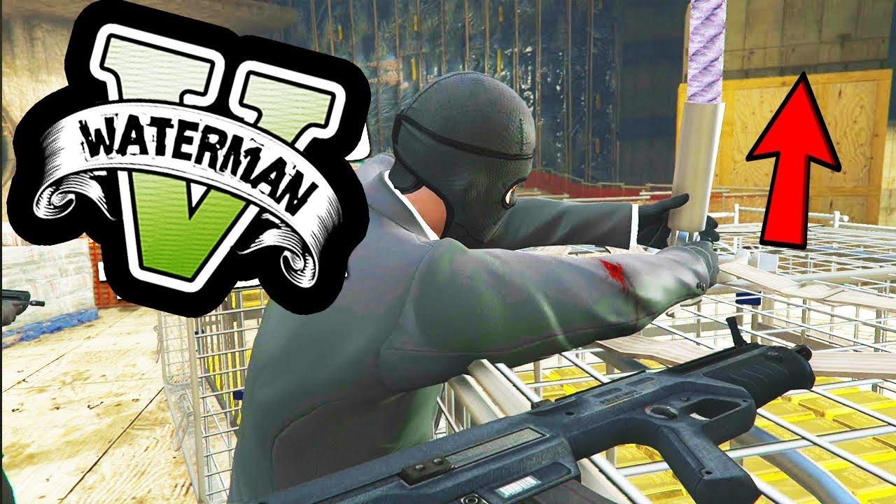 GTA5 HEIST Mods: Phi Vụ Cướp Ngân Hàng Quy Mô Lớn Nhất Từ Trước Tới Nay