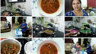 Back to normal routine/Monday evening meal planning/Tasty mutton bones soup/Indianmom busy lifestyle