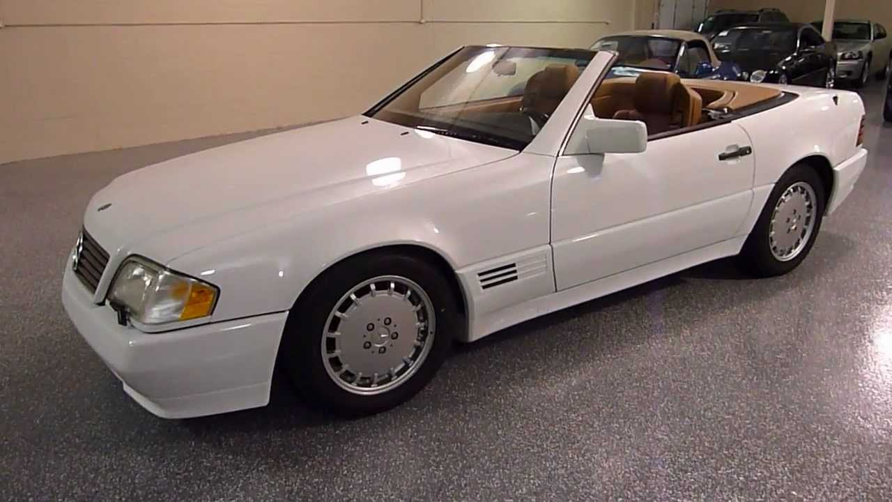 1992 mercedes benz 500sl 2dr roadster sold 2179 youtube for 1992 mercedes benz sl500
