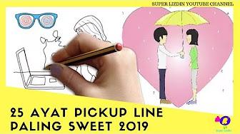 Ayat Ayat Pickup Line Paling Sweet - Zafrina