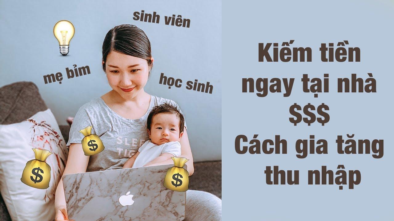 CÔNG VIỆC THU NHẬP CAO có thể làm tại nhà   Gia tăng thu nhập mùa Covid19