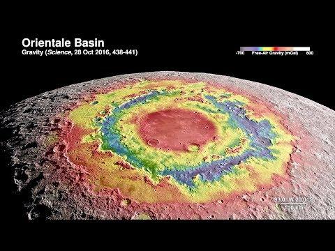 NASA's 4K CGI Tour of the Moon with Narration