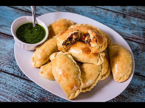 authentic-argentinian-beef-empanadas-with-chimichurri-sauce-|-tom-to-table