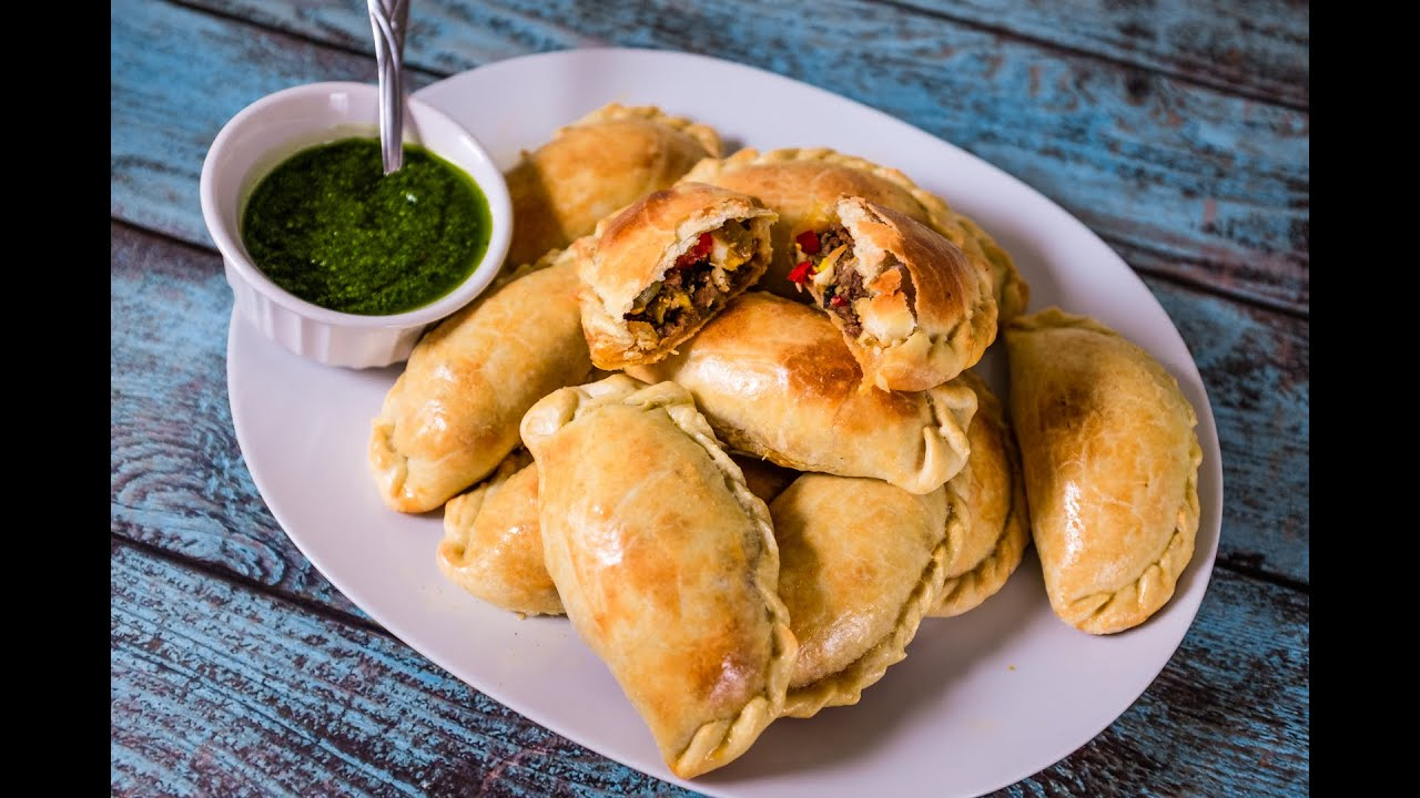 Authentic Argentinian Beef Empanadas with Chimichurri ...