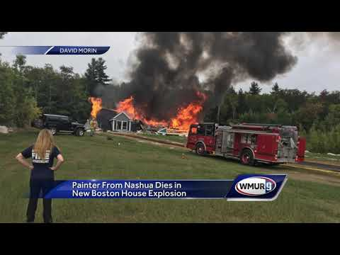 Painter from Nashua dies in New Boston house explosion