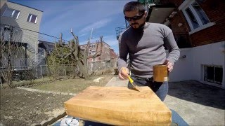 Making A Small Table From A Large Wood Stomp!