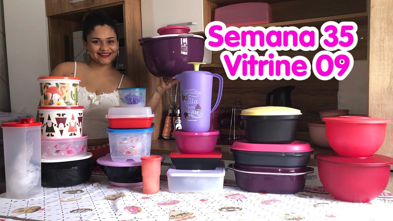 Abrindo Caixas Tupperware | Semana 35 | Vitrine 09 - Alana Barreto