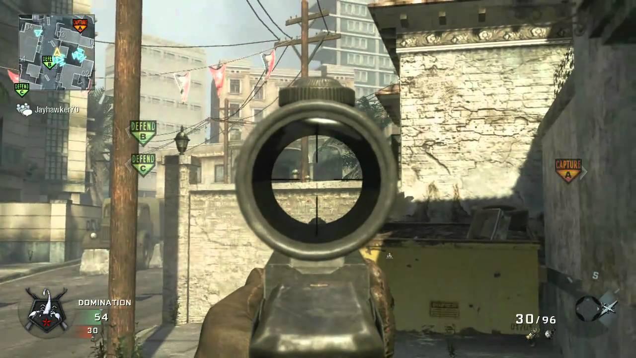 Black Ops - M16 ACOG - YouTube M16 Acog
