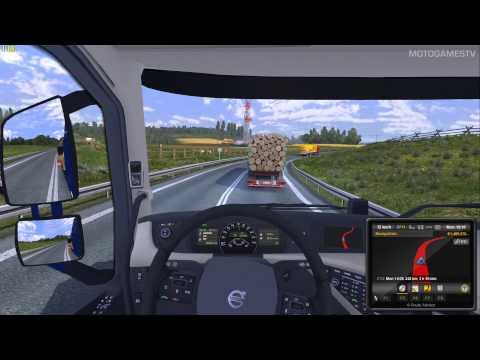 Euro Truck Simulator 2 - Poznan - Olsztyn Mission