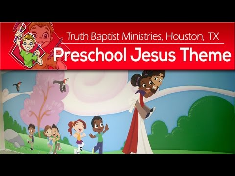 Jesus Preschool Children's Ministry Theme by Creative For Kids