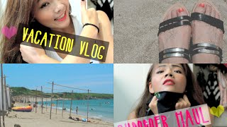 ♥Summer haul,vacation vlog,what I brought to the beach♥