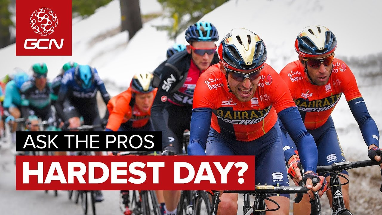 1a22965d2cd Worst Day On A Bike? | GCN Asks The Pros At The Giro d'Italia. Global  Cycling Network