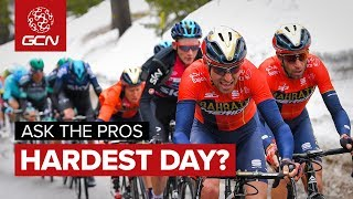 Worst Day On A Bike? | GCN Asks The Pros At The Giro d'Italia