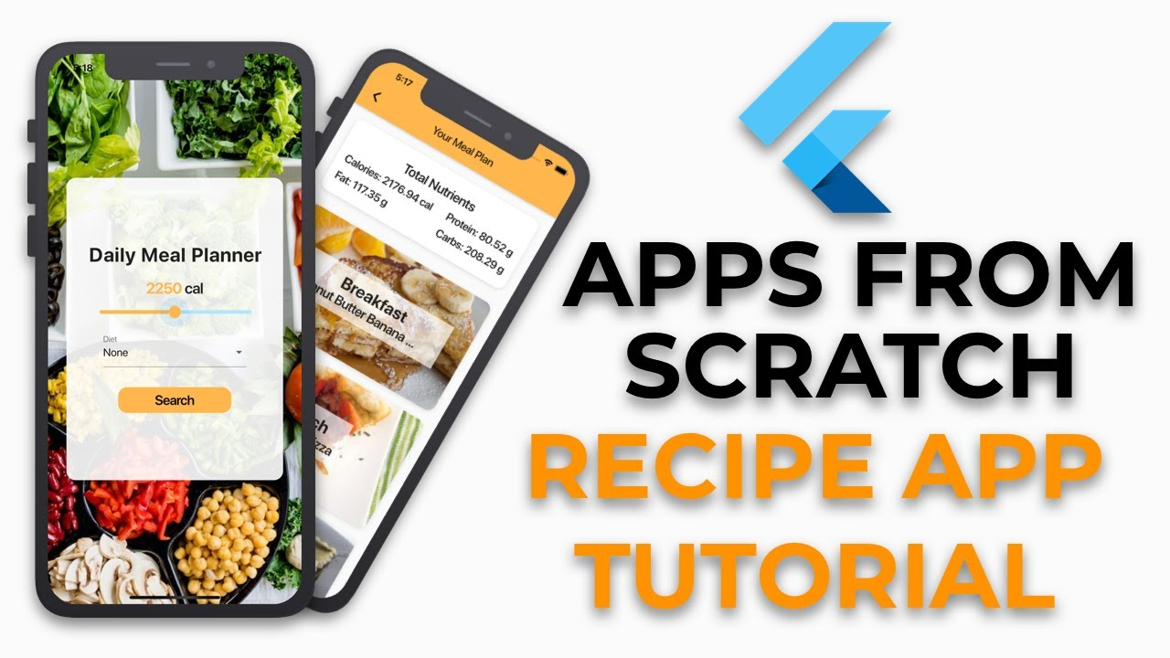 Flutter Recipe App Tutorial   Apps From Scratch
