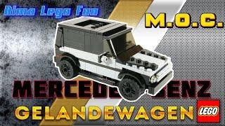 почти ГЕЛИК Воротникова - Lego MOC #61 Mercedes Gelandewagen -