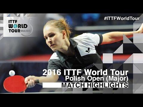 2016 Polish Open Highlights: Jeon Jihee vs Alexandra Privalova (R2)