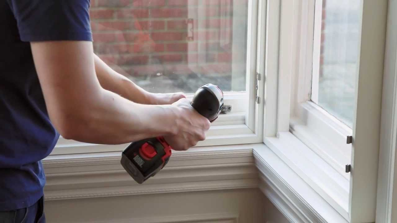 How To Install Window Shutters In A Box Bay Window Youtube