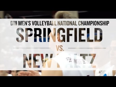 NCAA National Championship Volleyball: Springfield vs New Paltz