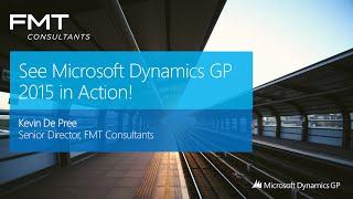 Microsoft Dynamics GP (Great Plains) 2015 Overview