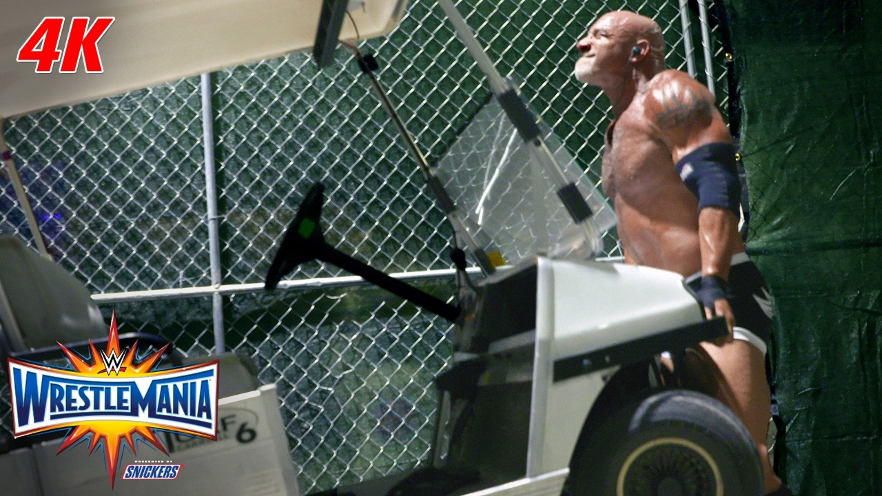 Download Go backstage at WrestleMania 33 with this 4K Exclusive