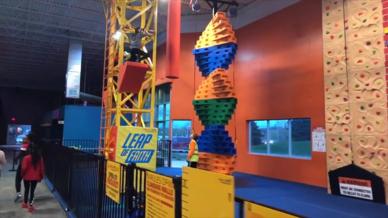 Urban Air Trampoline Park Adventure Park Plymouth Mn Now Open Youtube