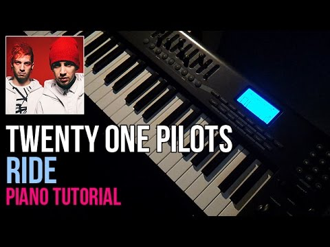 How To Play: Twenty One Pilots - Ride (Piano Tutorial)