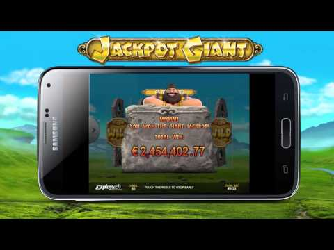 Jackpot Giant €5,890,641.69 Progressive Jackpot Mobile Win!!