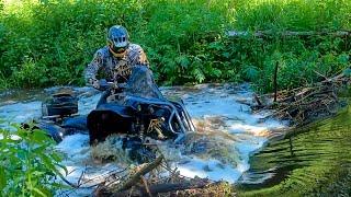 Битва с Бобрами. Рыбалка на Лодке за $100 000. Утопили Ключи от Квадроцикла. Готовим Мясо на Озере