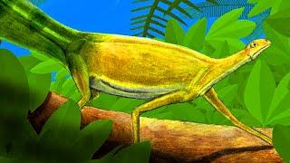 hypuronector-a-prehistoric-swimming-reptile