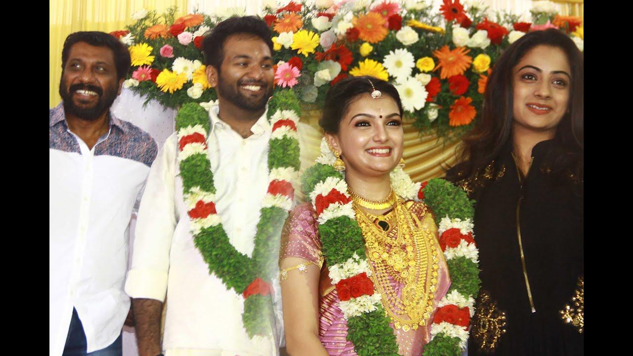 Actress Saranya Mohan Aravind Krishnan Wedding Video Namitha Pramod You