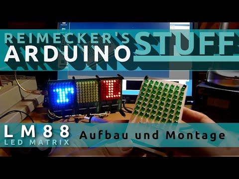 LM88 - Led Matrix Aufbau und Montage