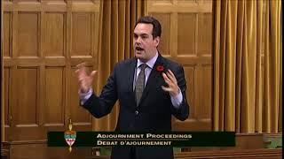 MP Weir on Phoenix after 150 Years of Parliament (Nov. 6, 2017)