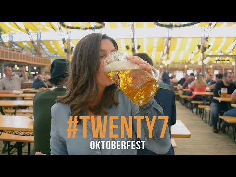 Oktoberfest in Munich 2017 | VLOG #TWENTY7