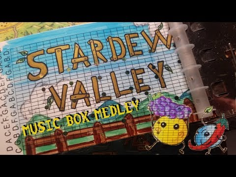 Stardew Valley MUSIC BOX Medley (w/ animation)